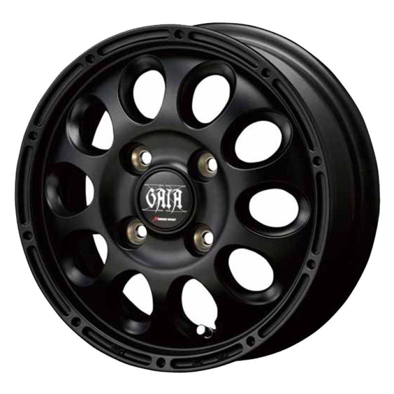 【12インチ サマー】145/80R12 ダンロップ ENASAVE VAN 01 & GAIA X (タイヤホイール4本セット)