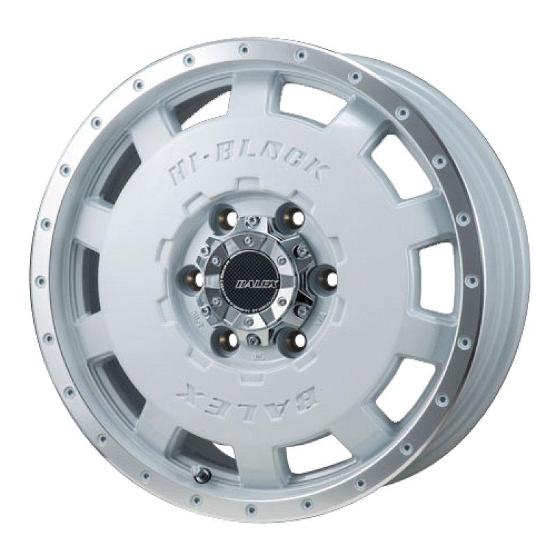 【15インチ サマー】195/80R15 ダンロップ ENASAVE VAN 01 & HI-BLOCK BALEX (タイヤホイール4本セット)