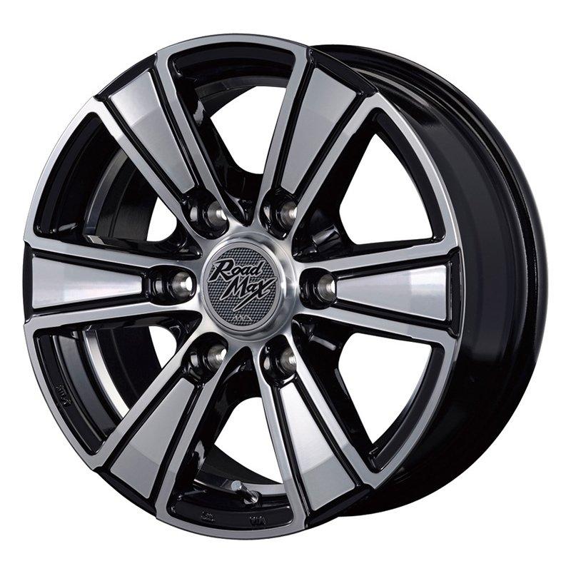 【15インチ サマー】195/80R15 ダンロップ ENASAVE VAN 01 & RoadMax MUD RANGER (タイヤホイール4本セット)