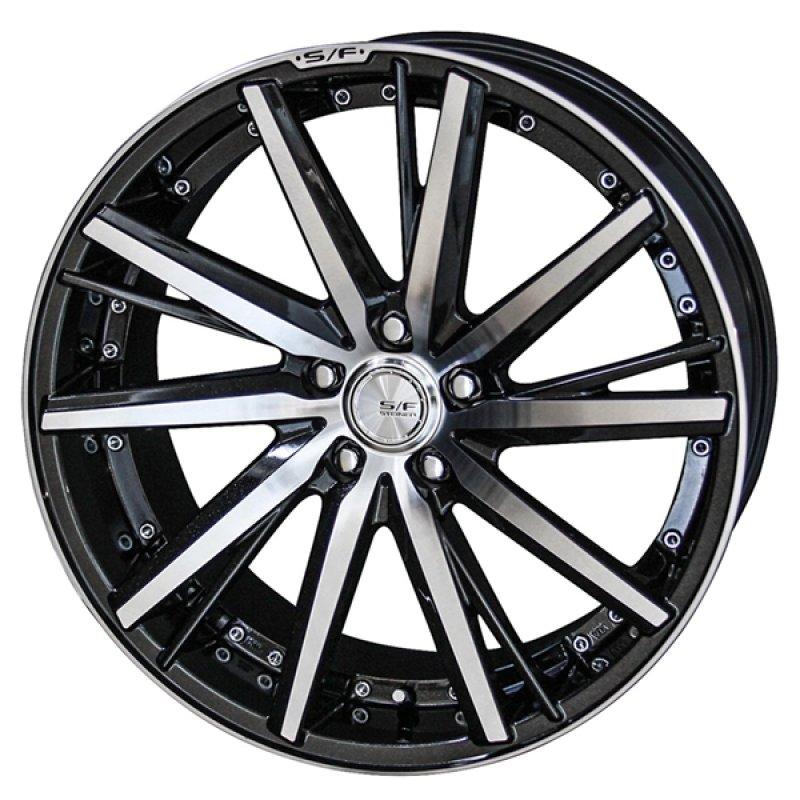 【20インチ サマー】245/35R20 ヨコハマタイヤ DNA ECOS & STEINER SF-V (タイヤホイール4本セット)