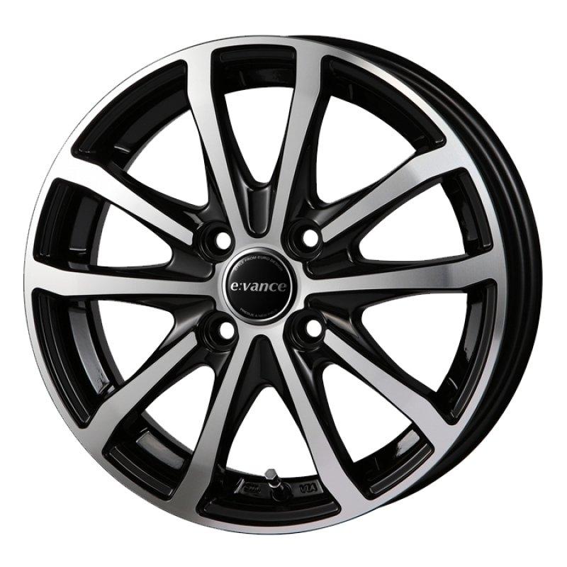 【15インチ サマー】185/55R15 ヨコハマタイヤ ECOS ES31 & E:VANCE HA1 (タイヤホイール4本セット)