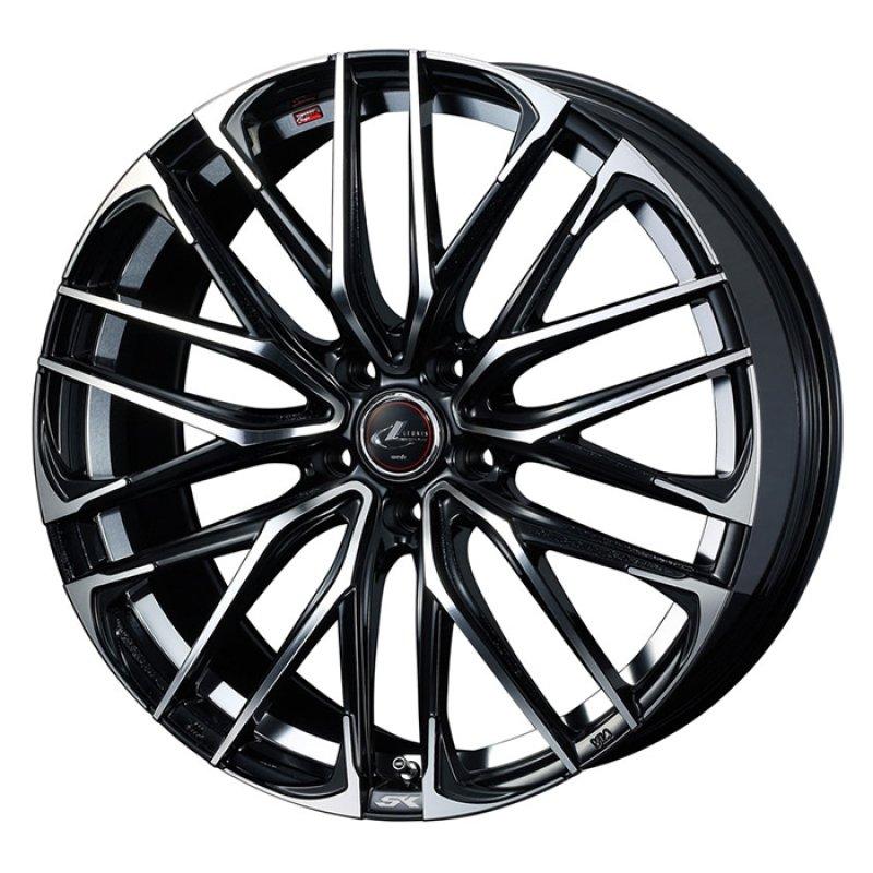 【17インチ サマー】215/45R17 ミシュラン PRIMACY HP & LEONIS SK (タイヤホイール4本セット)