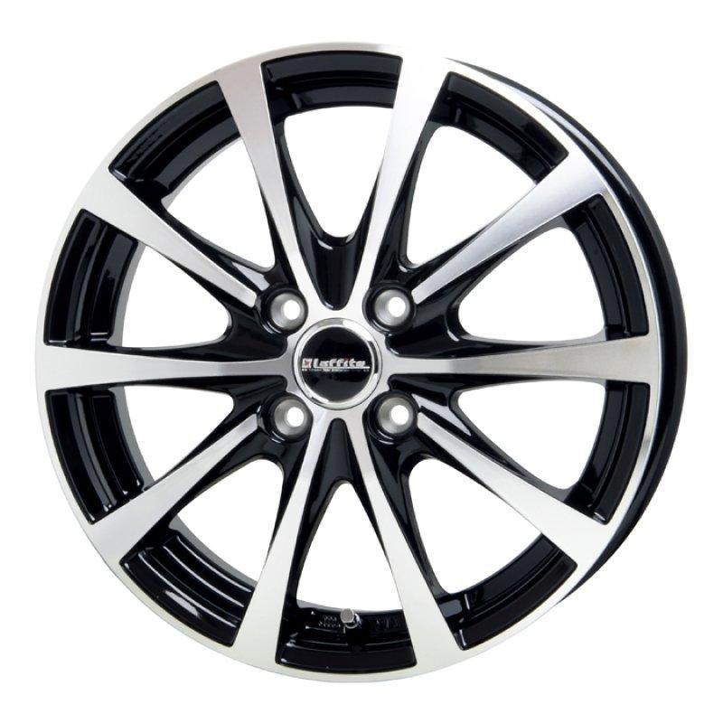 【14インチ サマー】175/65R14 ヨコハマタイヤ BluEarth-A AE50 & LAFFITE LE-03 (タイヤホイール4本セット)