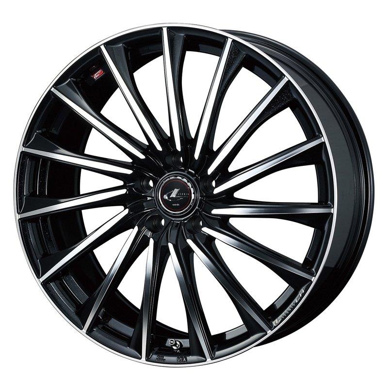 【17インチ サマー】215/45R17 ミシュラン PRIMACY HP & LEONIS CH (タイヤホイール4本セット)