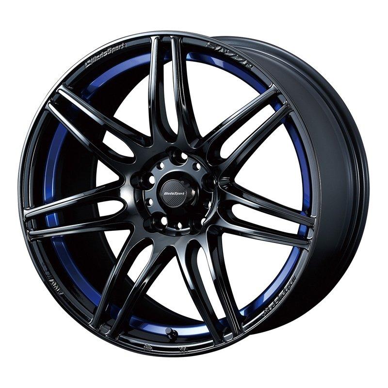 【17インチ サマー】215/45R17 ミシュラン PRIMACY HP & WedsSport SA-77R (タイヤホイール4本セット)