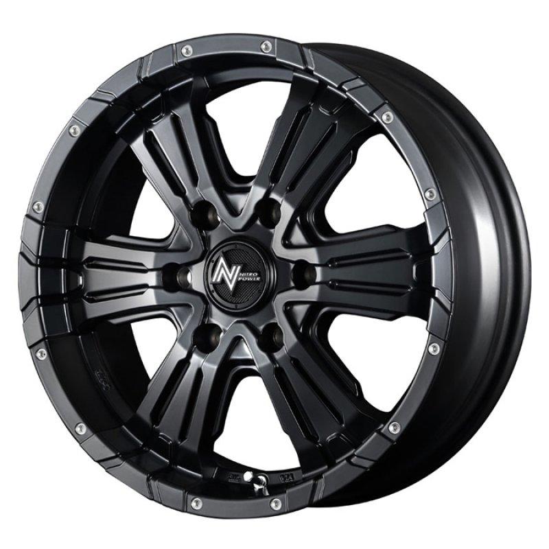 【16インチ サマー】215/65R16 ヨコハマタイヤ PARADA PA03 & NITRO POWER CROSS CLAW (タイヤホイール4本セット)
