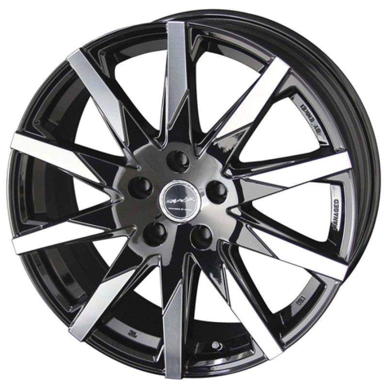 【17インチ サマー】215/45R17 ヨコハマタイヤ BluEarth RV-02 & SMACK SFIDA (タイヤホイール4本セット)