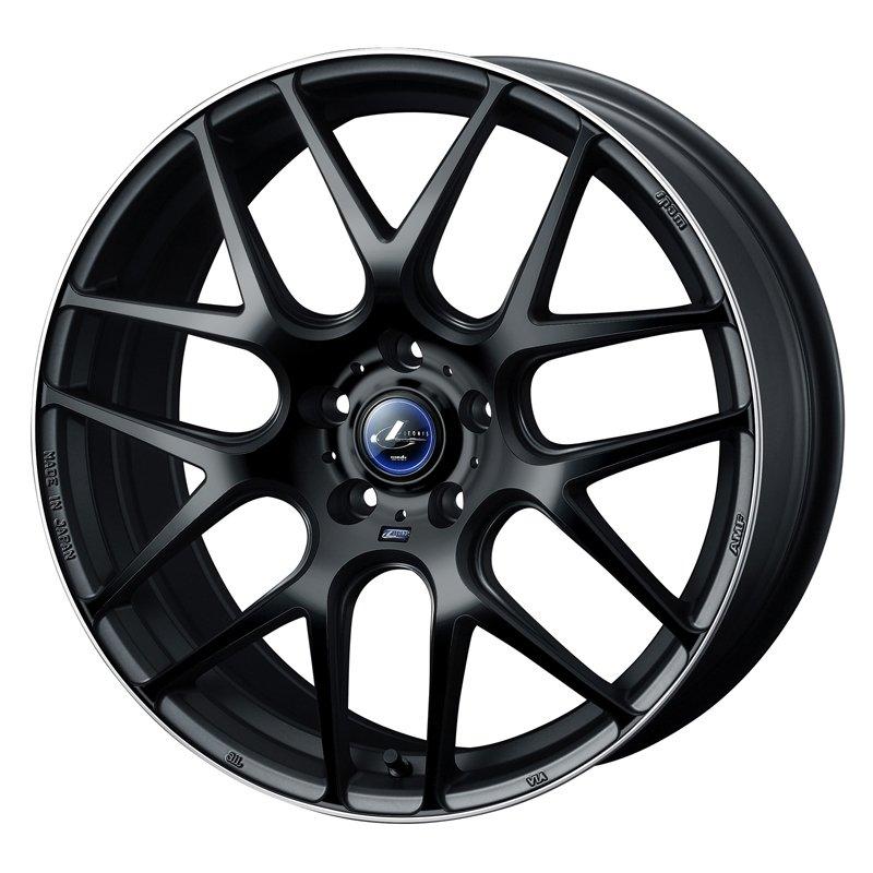 【18インチ サマー】225/50R18 ファルケン ZIEX ZE914F & LEONIS NAVIA 06 (タイヤホイール4本セット)
