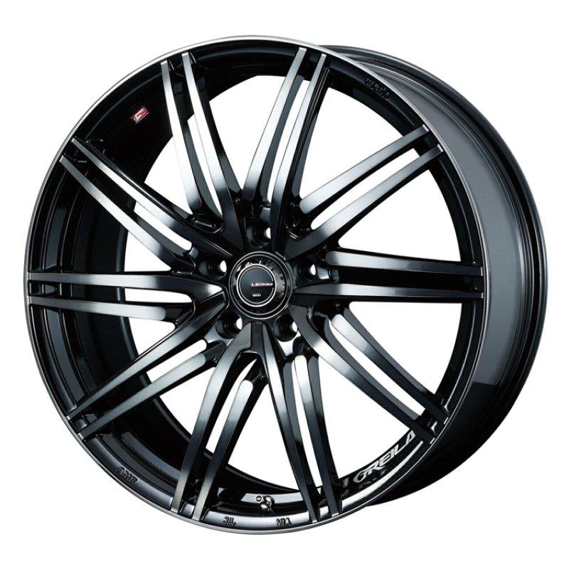【17インチ サマー】225/60R17 ダンロップ ENASAVE RV504 & LEONIS GREILA (タイヤホイール4本セット)