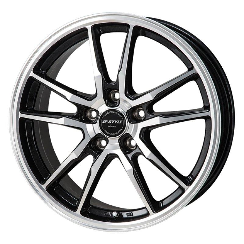 【17インチ サマー】195/45R17 ダンロップ LE MANS V & JP STYLE CRAVER (タイヤホイール4本セット)