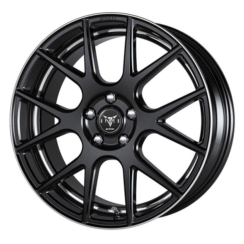 【19インチ サマー】225/55R19 ヨコハマタイヤ BluEarth RV-02 & RYVER M006 (タイヤホイール4本セット)