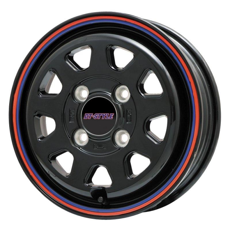 【12インチ サマー】145/80R12 トーヨータイヤ OPEN COUNTRY RT & DT-STYLE (タイヤホイール4本セット)