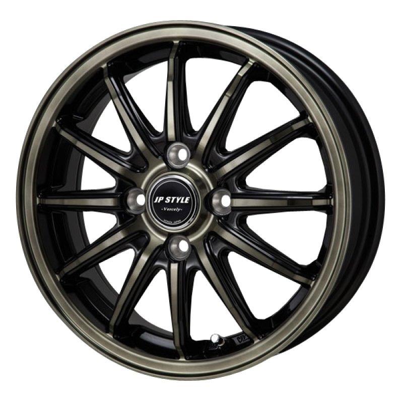 【16インチ サマー】195/55R16 ミシュラン PRIMACY 4 & JP STYLE Vercely (タイヤホイール4本セット)