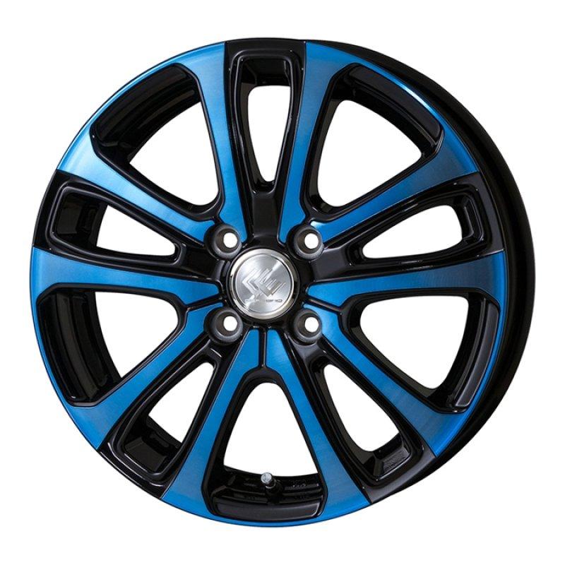 【14インチ サマー】155/65R14 ヨコハマ S306 & セレブロLF5 ブルー (タイヤホイール4本セット)