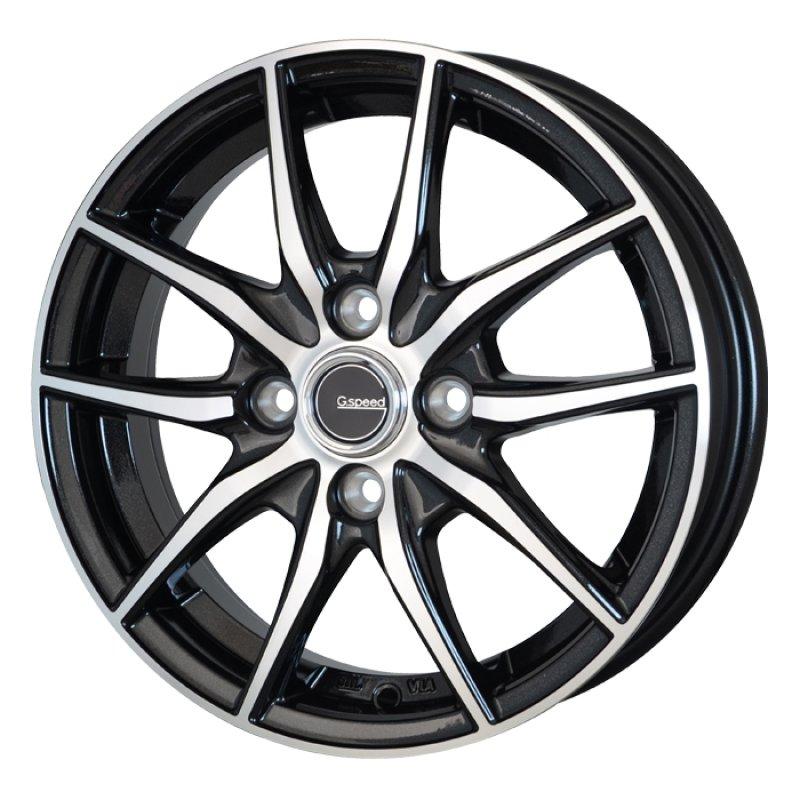 【14インチ サマー】155/65R14 ヨコハマ S306 & GスピードP02 (タイヤホイール4本セット)