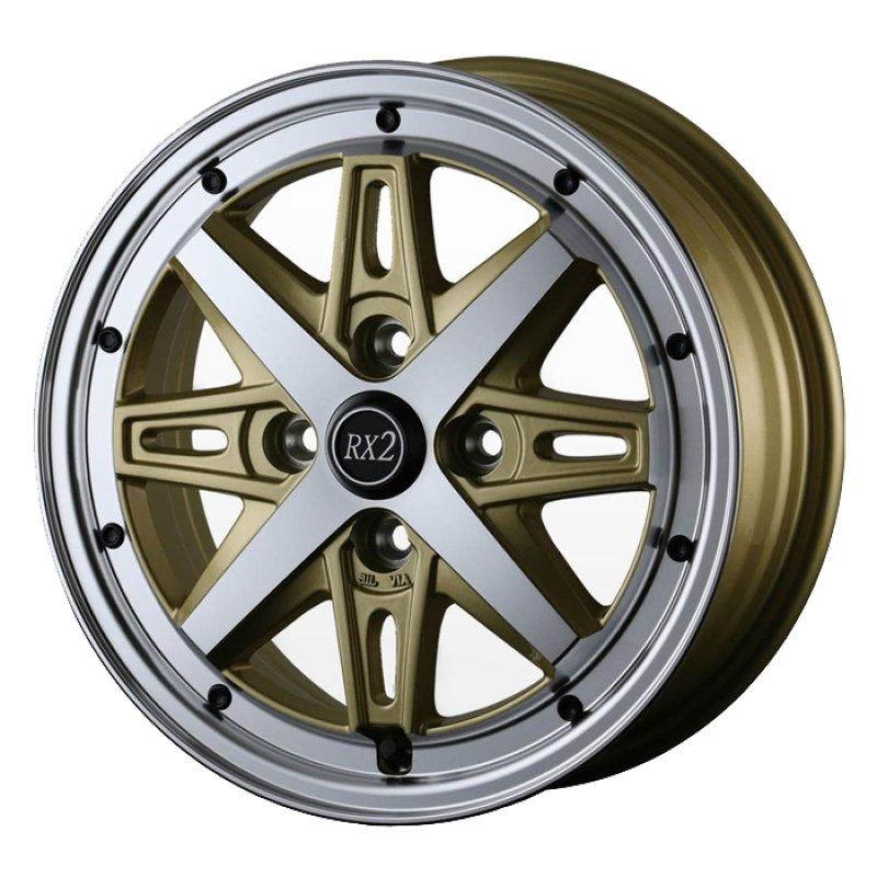 【14インチ サマー】155/65R14 ヨコハマ S306 & アルジェノンフェニーチェRX2 (タイヤホイール4本セット)